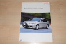 84379) Honda Civic IMA Prospekt 12/2003