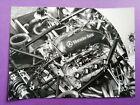 altes Presse Werksfoto Sauber Mercedes Benz Motor, LeMans, Sportwagen WM 1990