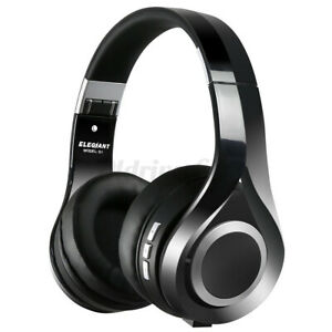 ELEGIANT Foldable Wireless bluetooth Headphones Over-Ear Stereo Headset With UK