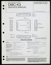 KENWOOD DMC-K3 Original MD Recorder Service-Manual/Diagram/Parts List o208