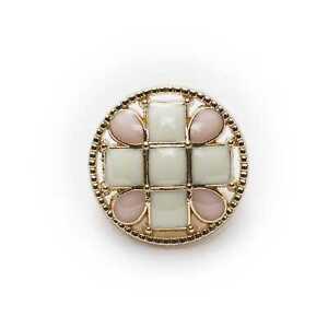 5pcs Enamel Metal buttons Sewing Scrapbook Gift Crafts Handwork Clothing 20mm