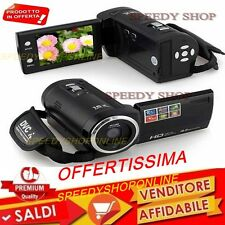 "Videocamera Digitale Video 2,7"" TFT LCD 18MEGA PIXEL HD 720P 4X Zoom Mini DVDVR"