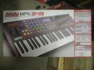 NEW Akai Professional MPK 249 - USB MIDI Performance Keyboard Controller