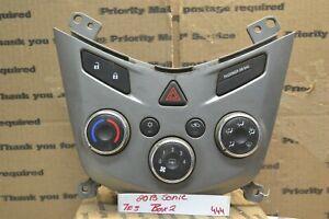 13-14 Chevrolet Sonic Ac Heater Temperature Climate Control bx2 95332699 444-7e3