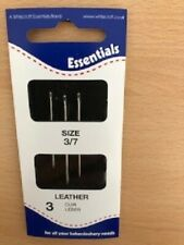 WHITECROFT ESSENTIAL Hand Sewing Needles  - Leather 3/7