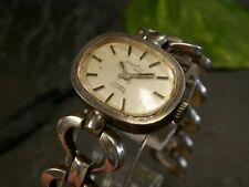 Retro 835 Silber Uhr Armbanduhr Montino Ancre Oval Damenuhr Defekt Vintage