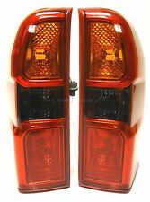 Lámparas luces de señal de cola trasero 1 set ahumado se ajusta Nissan Patrol GR Mk II 2004-2009