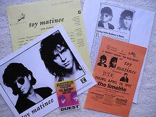 KEVIN GILBERT / TOY MATINEE - 1990 US PROMO PHOTO, BIO, PRESS, FLYER & B/S PASS