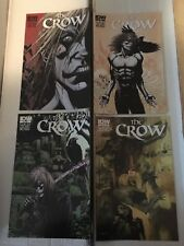 The Crow #1 2 3 4 IDW Comic Book Quantity 4 Lot / Run 2012 NM Condition