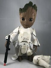 Guardians Vol. 2 Baby Groot Cosplayer Figure - Imperial Snowtrooper - Star Wars