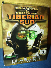 Westwood Command and Conquer: Tiberian Sun PC CD-ROM CIB