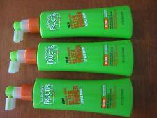 lot of 3 - Garnier Fructis Sleek & Shine Primer Style Prep - 5.1 Fl Oz.each
