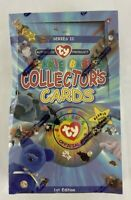 Beanie Babies Ty Premier Official Limited Edition Collectors Card Box, 1998 New