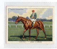(Jc2585-100)  WILLS,RACEHORSES & JOCKEYS,1938,CARLISLE,1939#28