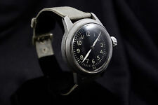 Waltham 1943 WW2 Military Watch ORD DEPT 16J NOS Band Runs Great! Hacking! RARE!