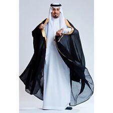 High Quality Mens Islamic Arabian Cloak Bisht thobe Robe Eid - AA 2nd class