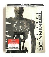 Terminator: Dark Fate SteelBook 4K Ultra HD + Blu-ray + Digital BRAND NEW