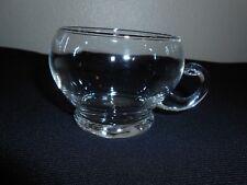 VINTAGE HANDBLOWN GLASS COFFEE TEA ESPRESSO CUP 5 OZ VERY NICE! FREE SHIP