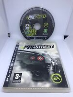 Need For Speed Prostreet - Sony PS3 - Tested And Working - No Manual