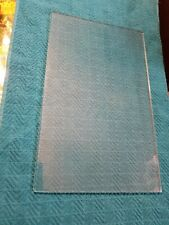 """Clear 10"""" X 16"""" X 4mm Tempered Glass for Display Cubes or Shelves."""
