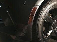 16-18 Camaro markers, reflector & third brake cover vinyl tint overlays 7 pieces