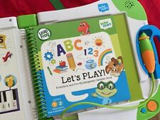 LeapFrog LeapStart Interactive Learning System Console Book Green w/ Batteries