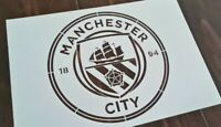 Large Manchester City Football Club FC Logo Stencil Airbrushing Paint Template