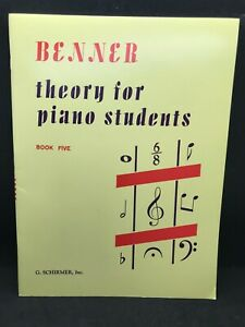 BENNER Theory for Piano Students Book 5 #2742