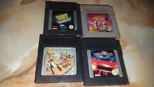 Jeux game boy lot de 4 jeux
