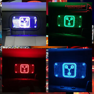 BACK TO THE FUTURE / FLUX CAPACITOR LED WINDOW SIGN / WALL SIGN APROX 40X20 CM