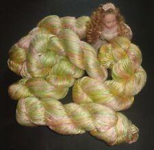 Silk Hand Dyed Craft Yarns