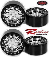 RC4WD Z-W0174 Raceline Monster 2.2 Beadlock Wheels (4) Yeti / Rock Beast