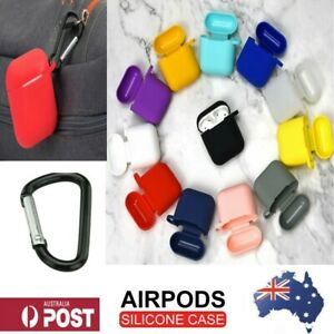 For Apple Airpod silicon skin case anti lost and scratch strap shockproof holder
