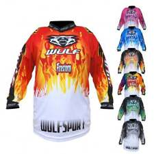 Wulfsport 2018 Firestorm Childrens Kids Youth Motocross MX Quad Bike Top Jersey