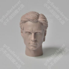 Custom 1/6 scale Blank Head Sculpt Tom Welling superman Smallville unpainted