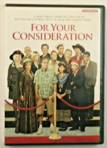 For Your Consideration DVD. 2006 Film, Catherine O'hara, Eugene Levy.