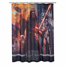 Star Wars The Force Awakens Fabric Shower Curtain 70