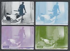 DEXTER SEASON 7 & 8 Breygent PRINTING PLATE SET BASE CARD #32  ALL 4 COLORS
