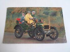 Vintage Postcard 1904 Norfolk 10 h.p. Double Pheaton Franked 1964  §A494