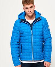 Superdry Mens Box Quilt Fuji Hooded Jacket