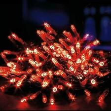 40 Red LED Supabrights Indoor / Outdoor Christmas Fairy Lights Premier