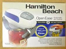 Hamilton Beach Open Ease Automatic Jar Opener, Model 76800, New in Box