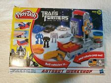 Play-Doh Transformer Dark of the Moon Autobot Workshop see description