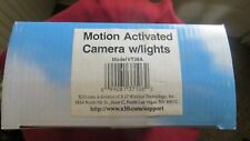 Motion Activated Camera w/ Lights  X10 New in Box VT38A Camera Flood Light