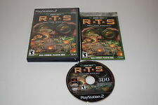 Army Men RTS Sony Playstation 2 PS2 Video Game Complete