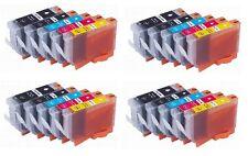 20 x Ink for Canon MP530 MP600 MP610 MP800 MP810 MP830 / PGI-5BK CLI-8 Cartridge
