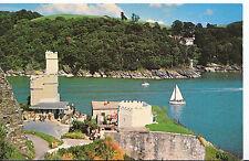 Devon Postcard - Old Battery and Victorian Navigational Light - Dartmouth SL207