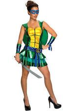 Teenage mutant ninja  turtle TMNT Leonardo Adult Womens Costume Small  #810235