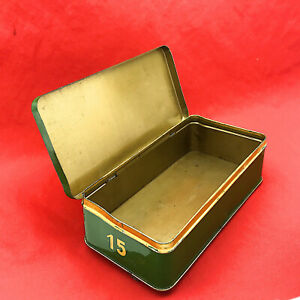 SINGER 15 Vintage Accessories Attachments Tin Box German Made Class 15