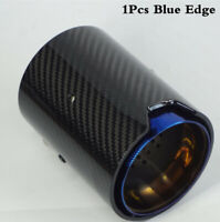 1x Car Real Carbon Fiber Exhaust tip For BMW M Performance exhaust pipe upgrade